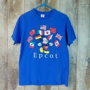 Vintage Disney Epcot Center Florida graphic Shirt